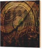Horloge Astronomique Wood Print