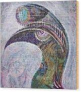 Hornbill Wood Print