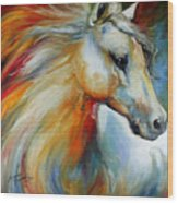 Horse Angel No 1 Wood Print