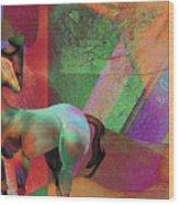 Horse Dreams Wood Print