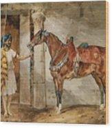 Horse Eastern Wood Print