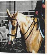 Horse Equus Ferus Caballus V2 Wood Print