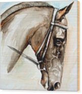 Horse Head Wood Print