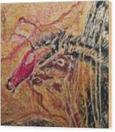 Horse Heads Wood Print