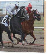 Horse Power 10 Wood Print