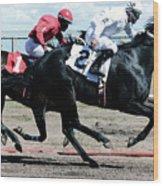 Horse Power 12 Wood Print