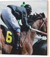 Horse Power 14 Wood Print