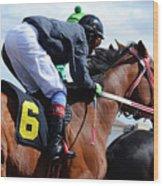 Horse Power 8 Wood Print