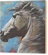 Horse Power Wood Print by Harvie Brown