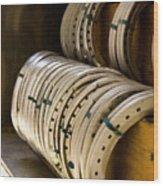 Horse Shoes Wood Print