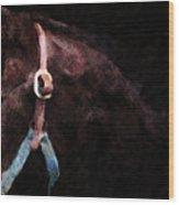 Horse Study #3 Wood Print