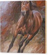 Horse2 Wood Print