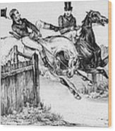 Horseback Riders, C1840 Wood Print