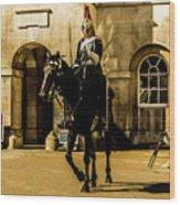Horseguards. Wood Print