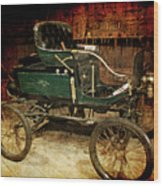 Horseless Carriage Wood Print