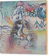 Horseman. St. George Wood Print