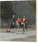 Horses 6 Wood Print