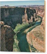 Horseshoe Bend Arizona Colorado River  Wood Print