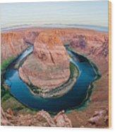 Horseshoe Bend Near Page Arizona Wood Print