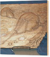 Horseshoe Crabs Wood Print by Doris Lindsey