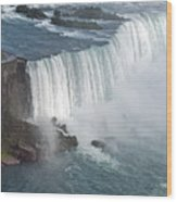 Horseshoe Falls At Niagara Wood Print
