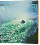 Horseshoe Falls Niagara Wood Print