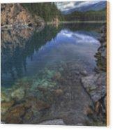 Horseshoe Lake Wood Print
