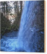 Horsetail Falls 2 Wood Print