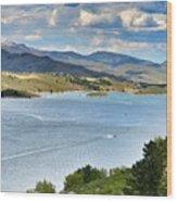 Horsetooth Reservoir Wood Print