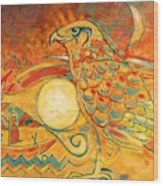 Horus Wood Print