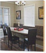 Hospice Quinte Meeting Room A Wood Print