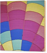 Hot Air Balloon - 9 Wood Print