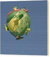 Hot Frog Wood Print