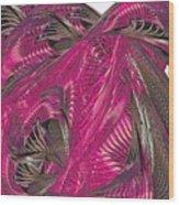 Hot Heat Wood Print
