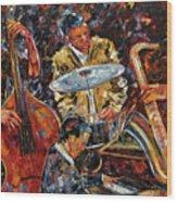 Hot Jazz Series 4 Wood Print