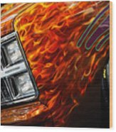 Hot Rod Chevrolet Scotsdale 1978 Wood Print