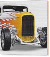 Hot Rod Ford Hi-boy Coupe 1932 Wood Print