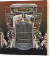 Hot Rod Lincoln Too Wood Print