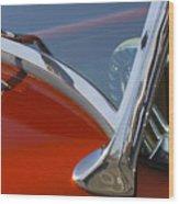 Hot Rod Steering Wheel 4 Wood Print