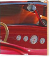Hot Rods Wood Print
