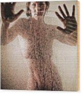 Hot Shower Wood Print