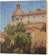 Hot Summer In Rome Wood Print