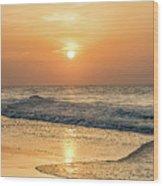 Hot Summer Sun Wood Print