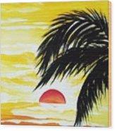 Hot Tropics Wood Print