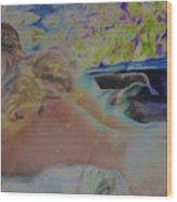 Hot Tub Wood Print
