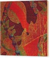 Hot Ulu Wood Print