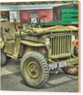 Hotchkiss Jeep Wood Print