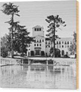 Hotel Del Monte - Bw Wood Print