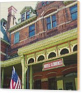 Hotel Florence Pullman National Monument Wood Print