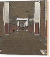 Hotel Hallway. Wood Print